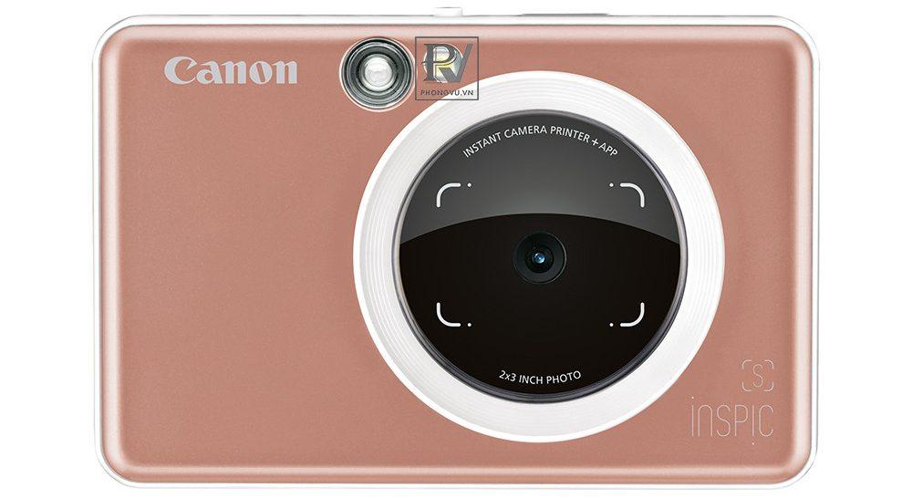 Máy ảnh Canon in liền iNSPiC [S] ZV-123A (Vàng hồng)