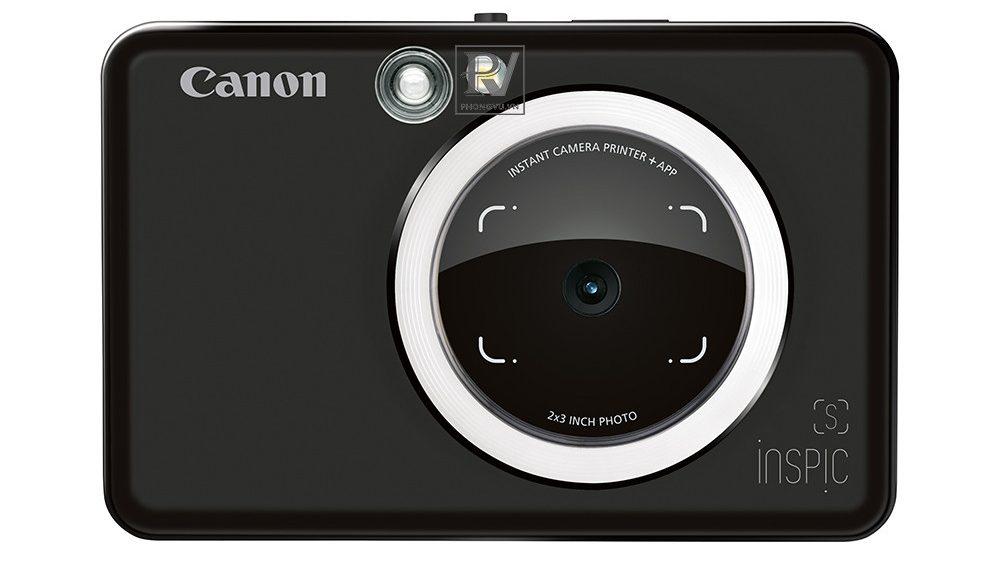 Máy ảnh Canon in liền iNSPiC [S] ZV-123A (Đen)