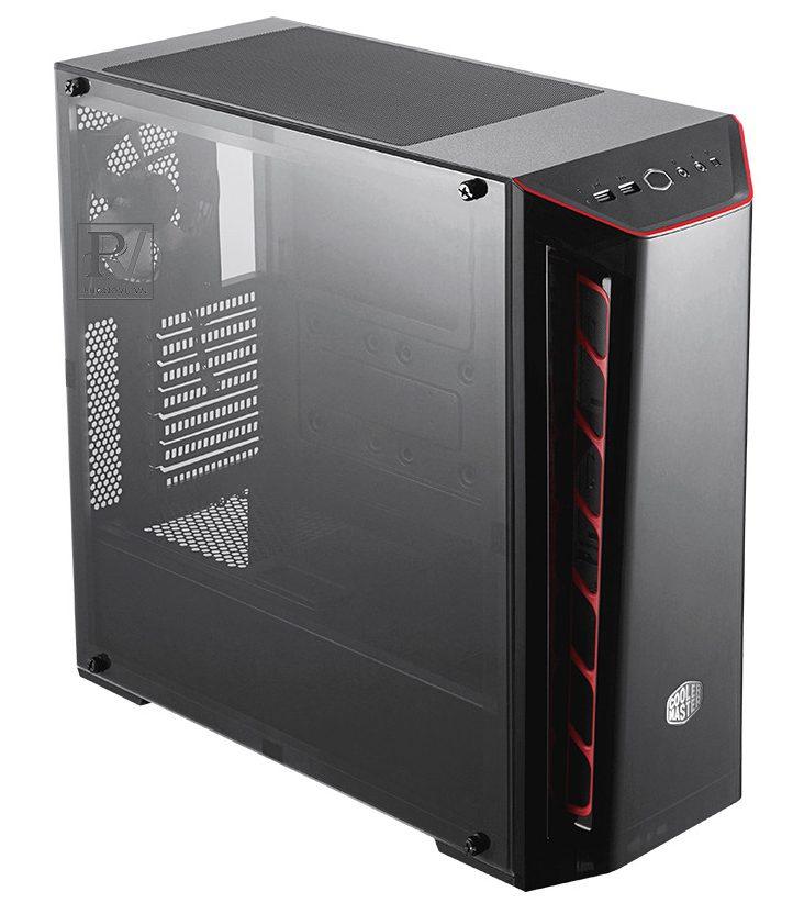 Case máy tínhCooler MasterMasterbox MB520 Red Trim -3