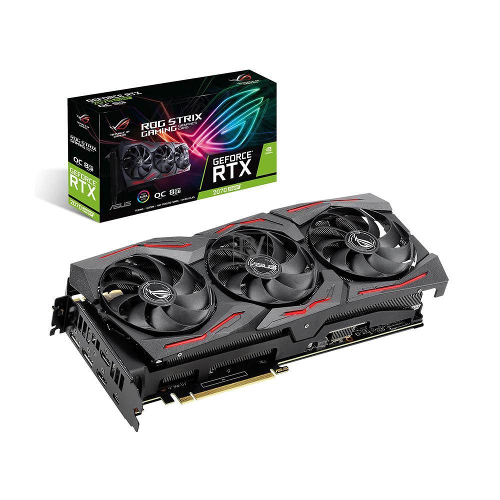 Card đồ họa ASUS GeForce RTX 2070 Super 8GB GDDR6 ROG Strix OC