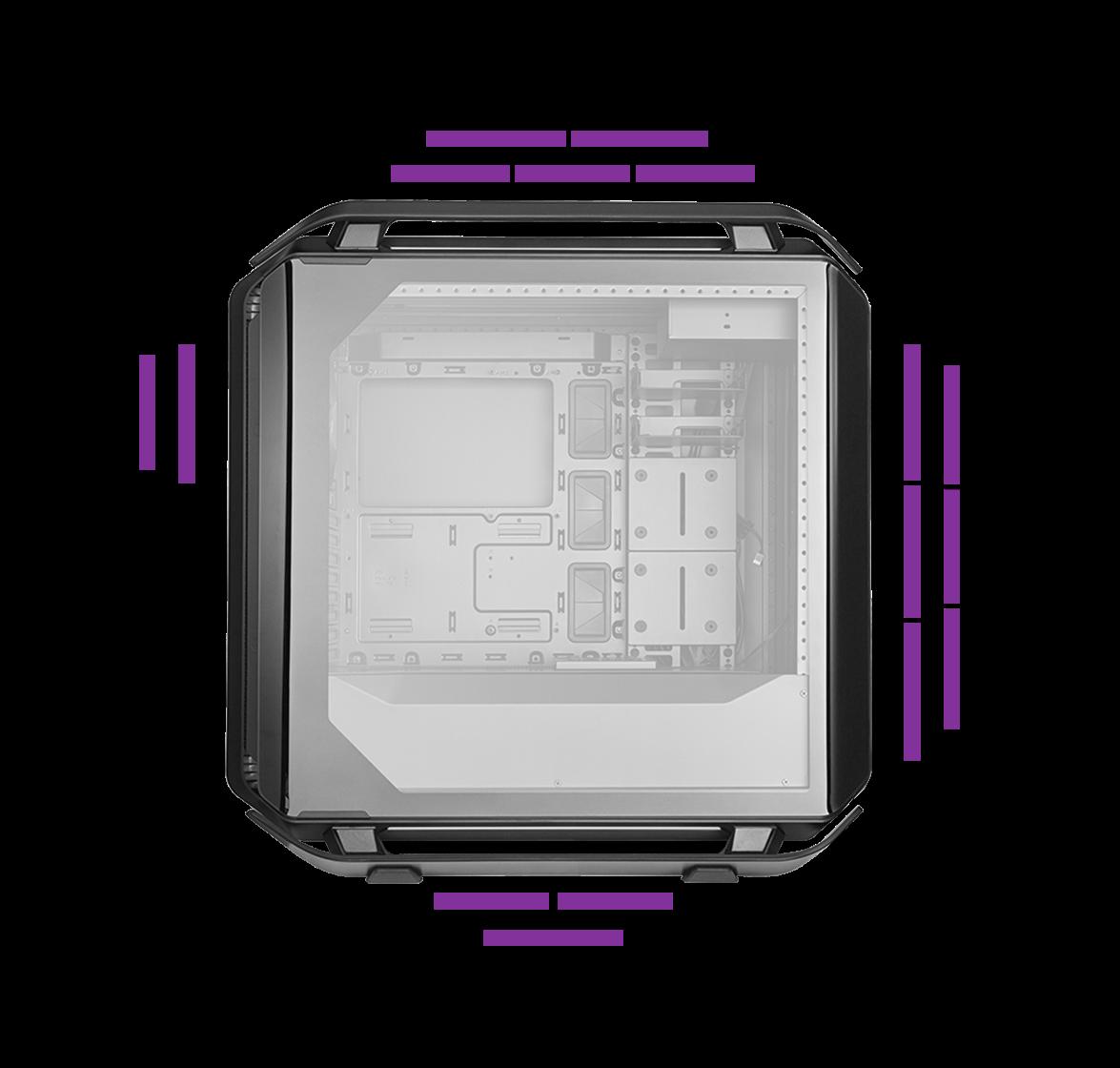 Case máy tính CM Cosmos C700P Black Edition_6
