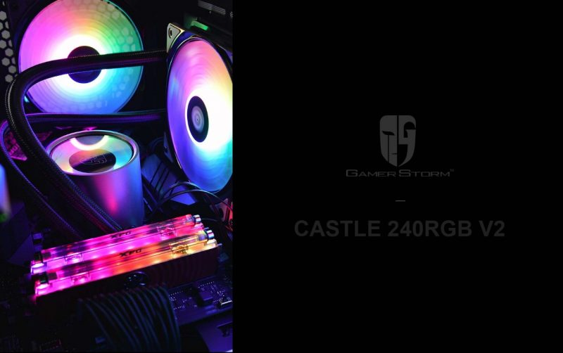 DEEPCOOL Castle 240RGB V2