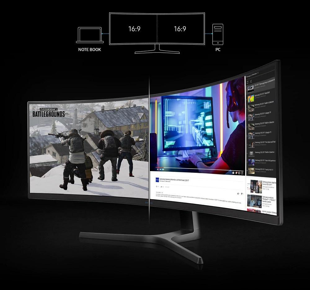 """Màn hình cong Samsung 49"""" LC49RG90SSE hoàn hảo"""