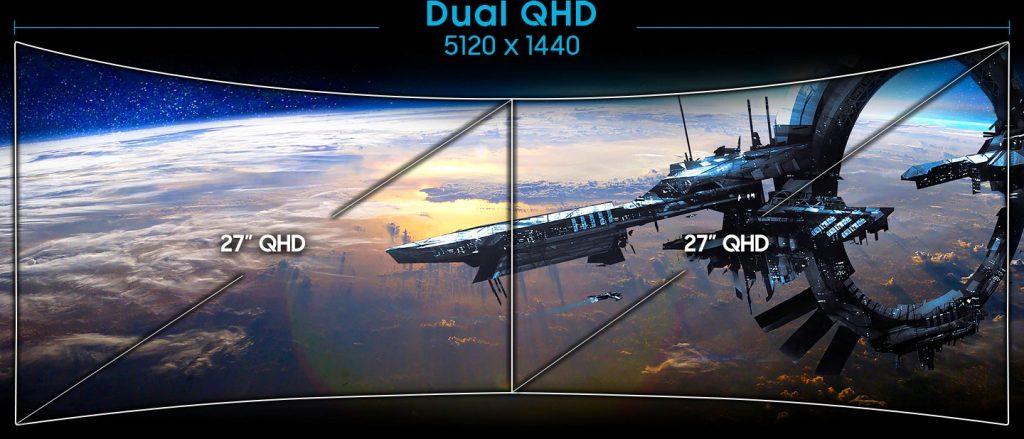 """Màn hình cong Samsung 49"""" LC49RG90SSE"""