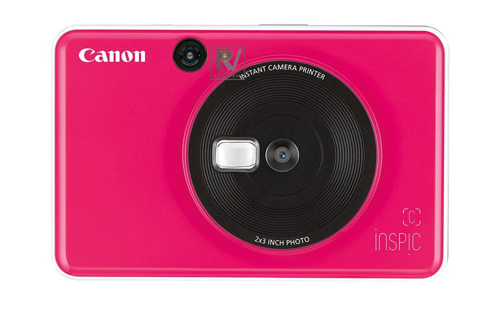 Máy ảnh Canon in liền iNSPiC [C] CV-123A (Hồng)_2