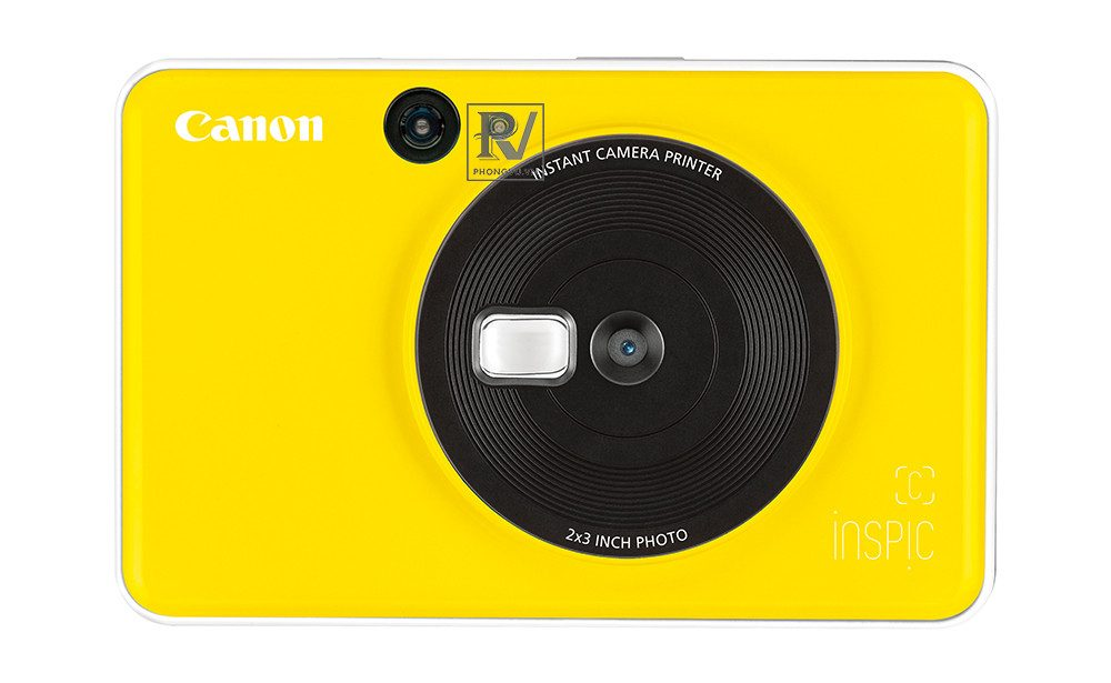 Máy ảnh Canon in liền iNSPiC [C] CV-123A (Vàng)_1