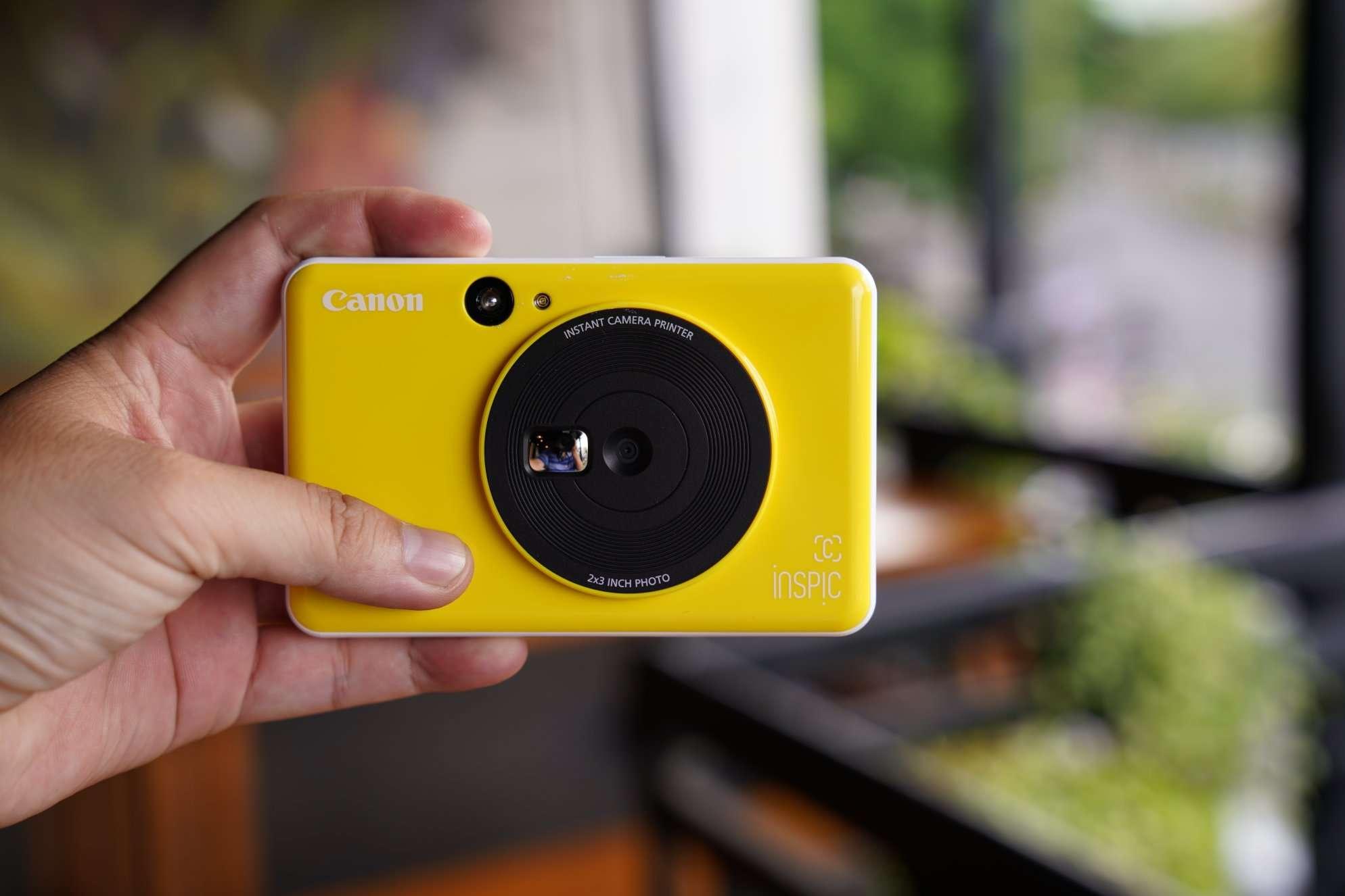 Máy ảnh Canon in liền iNSPiC [C] CV-123A (Vàng)_4