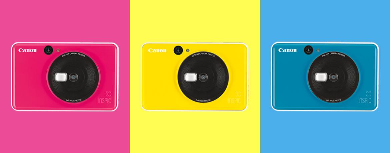 Máy ảnh Canon in liền iNSPiC [C] CV-123A (Hồng)_4