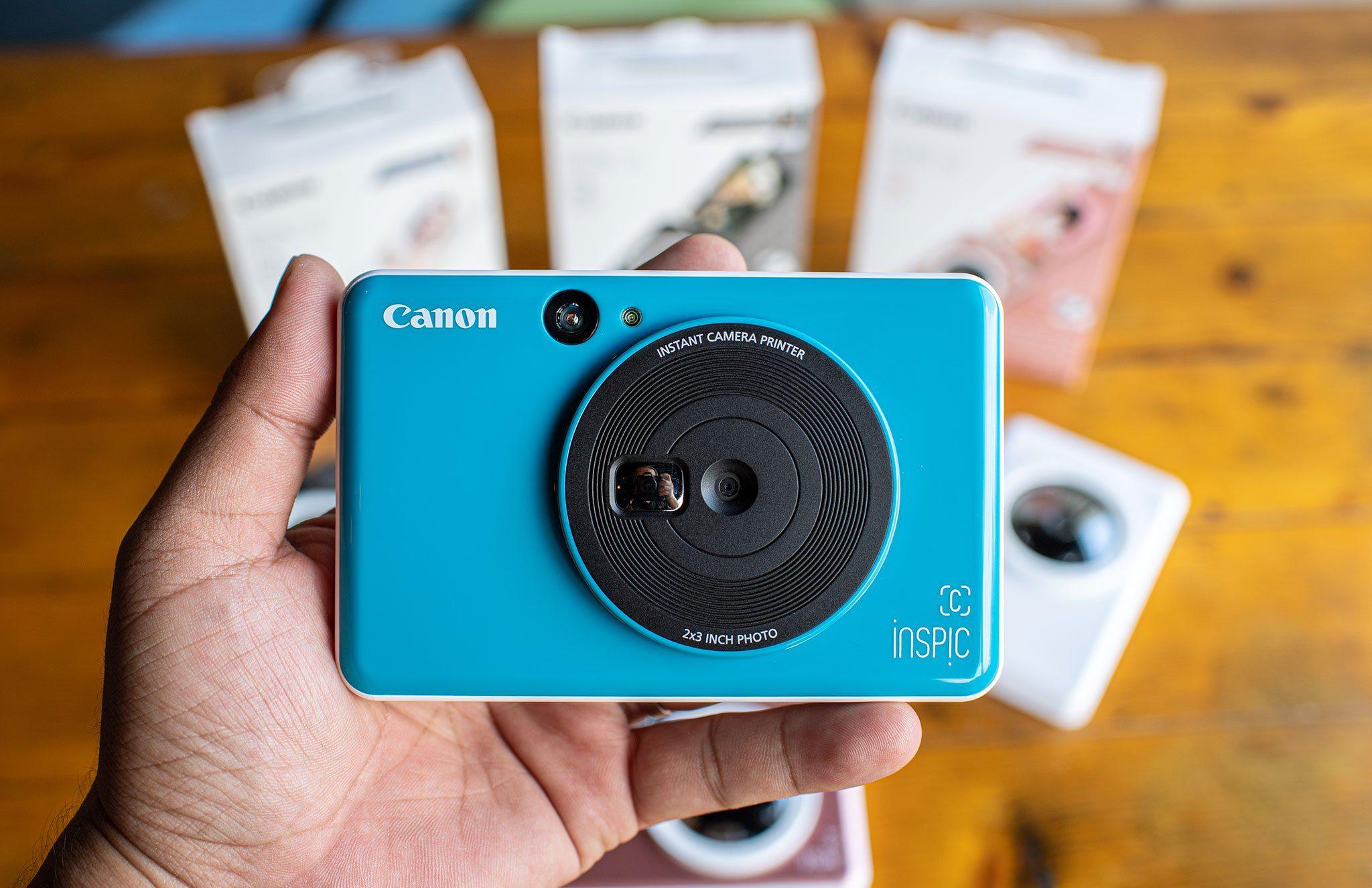 Máy ảnh Canon in liền iNSPiC [C] CV-123A (Xanh)_2