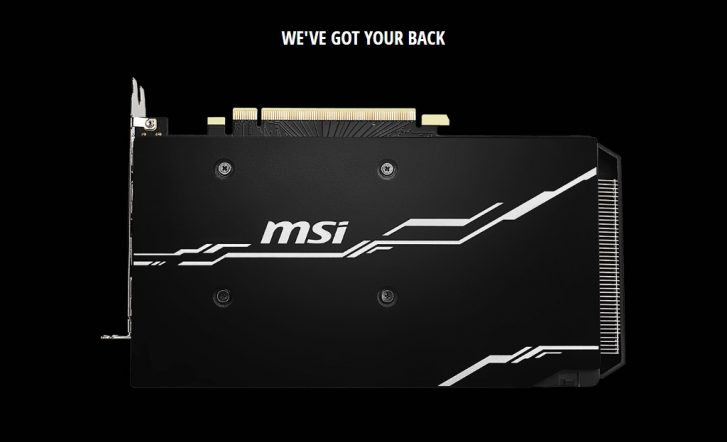 MSI GeForce RTX 2060 Super 8GB GDDR6 VENTUS OC