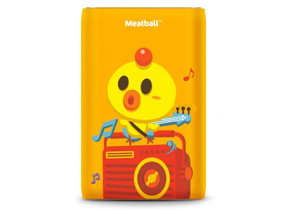 Pin sạc dự phòng Pisen Meatball II 10050mAh (Phiên bản mới - B) (Cam)_1