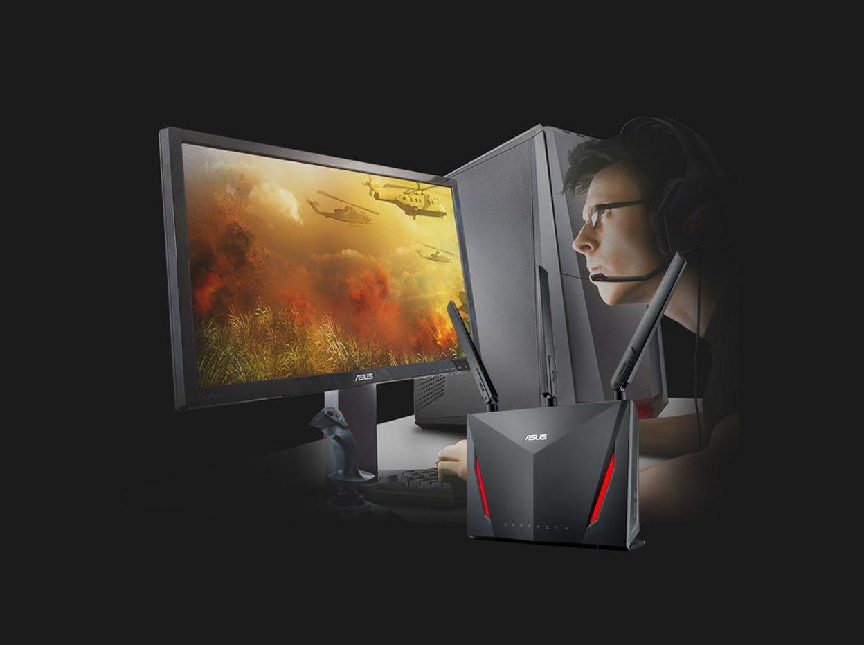 Router Wifi Mesh ASUS AC2900 RT-AC86U Gaming (2PK)-Công nghệ NitroQAM™