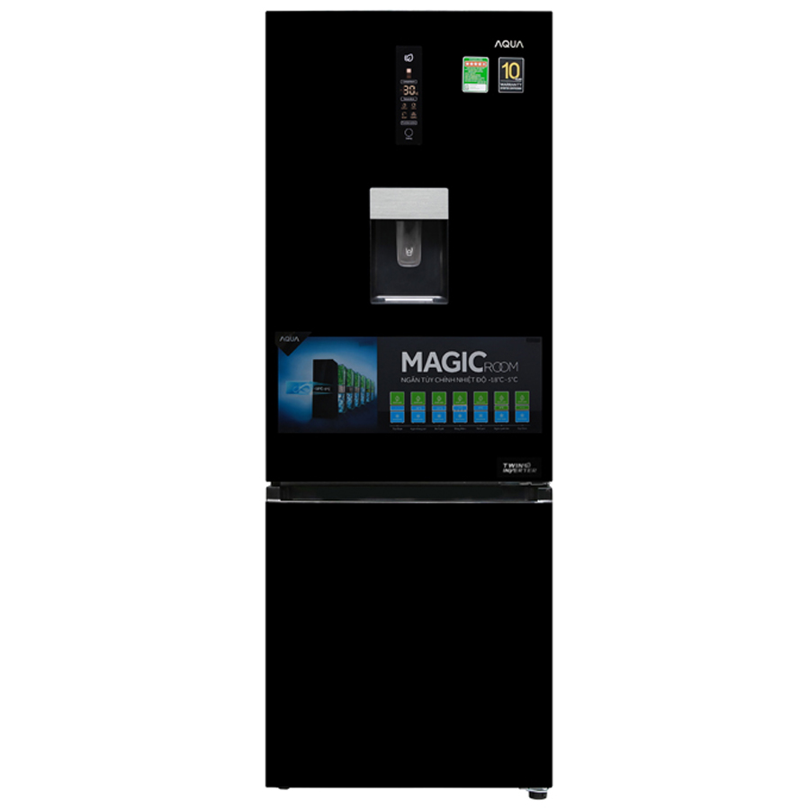 Tủ lạnh Aqua Inverter 350 lít AQR-IW378EB(BS)_1