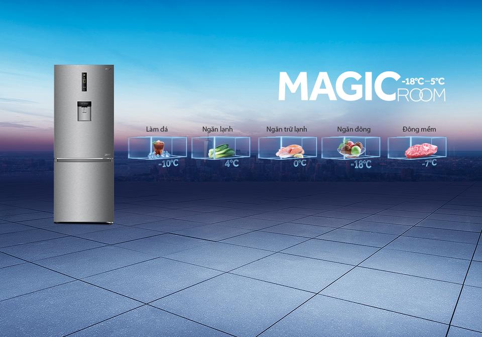 Tủ lạnh Aqua Inverter 350 lít AQR-IW378EB(BS)_3