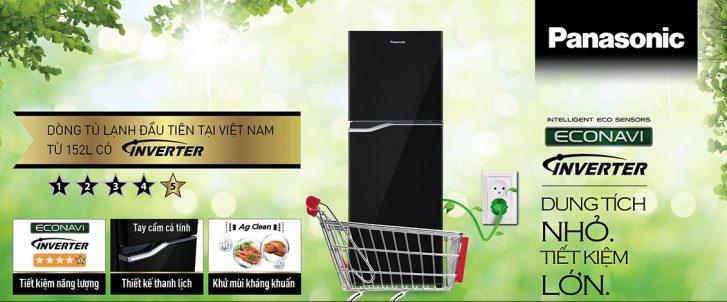 Tủ lạnh Panasonic Inverter NR-BA228PTV1