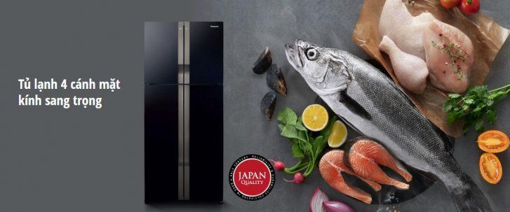 Tủ lạnh Panasonic Inverter NR-DZ600GKVN