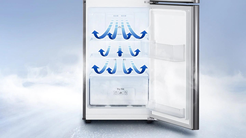 Tủ lạnh Samsung Inverter 208 lít RT19M300BGS-SV_7