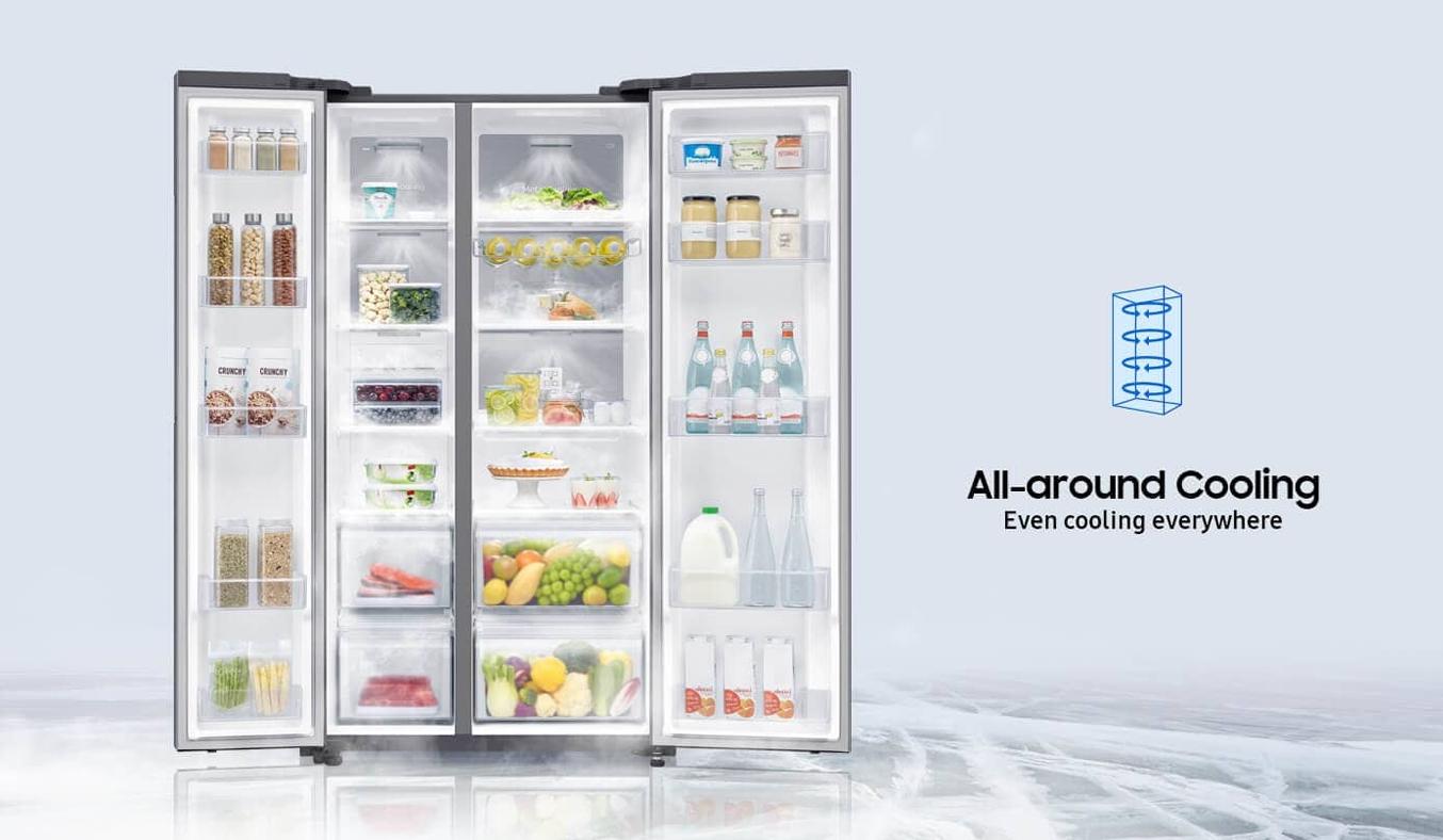 Tủ lạnh Samsung Inverter 680 lít RS62R5001B4/SV