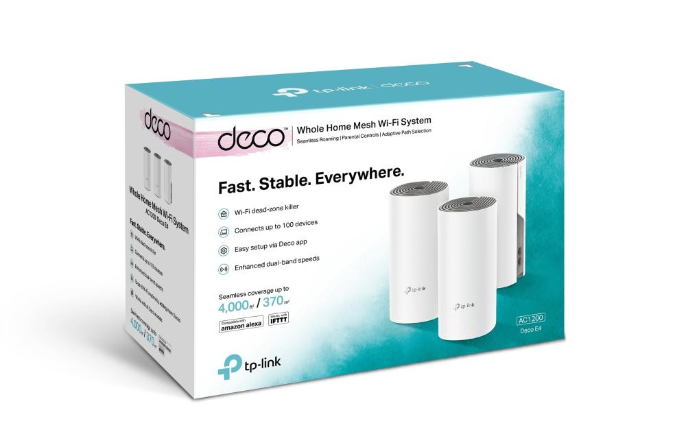 Thiết bị mạng TPLink Deco E4 (3 Pack)-6