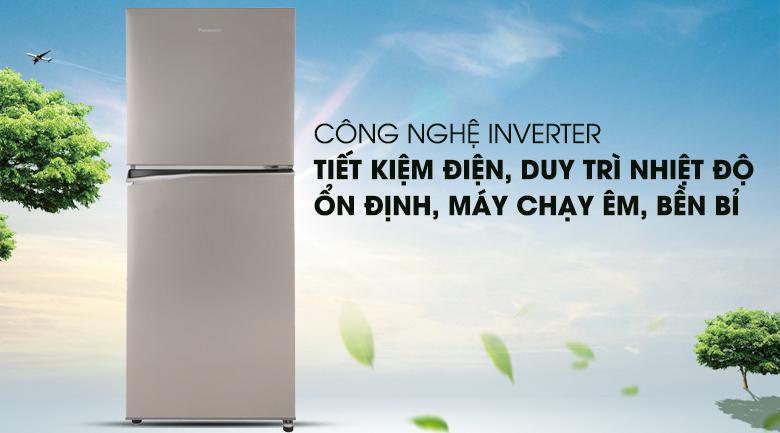 Tủ lạnh Panasonic 268 lít NR-BL300PSVN mang công nghệ tiết kiệm điện inverter