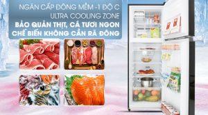 Tủ lạnh Toshiba Inverter 253 lít GR-B31VU(UKG)