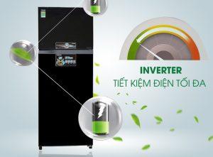 Tủ lạnh Toshiba Inverter 359 lít GR-AG41VPDZ(XK)