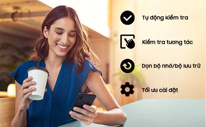 Điện Thoại Di Động Samsung Galaxy A10s-ứng dụng samsung member