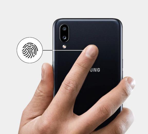 Điện Thoại Di Động Samsung Galaxy A10s-bảo mật vân tay