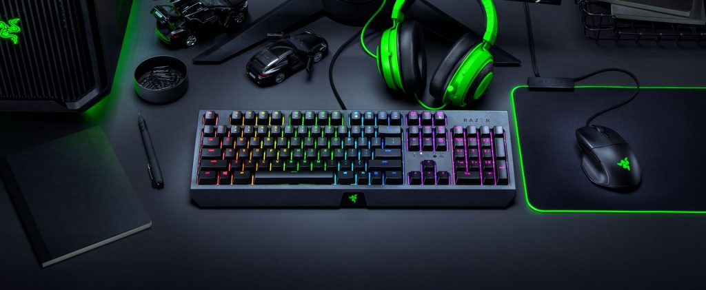 Bàn phím cơ Gaming Razer Blackwidow 2019 Green Switch