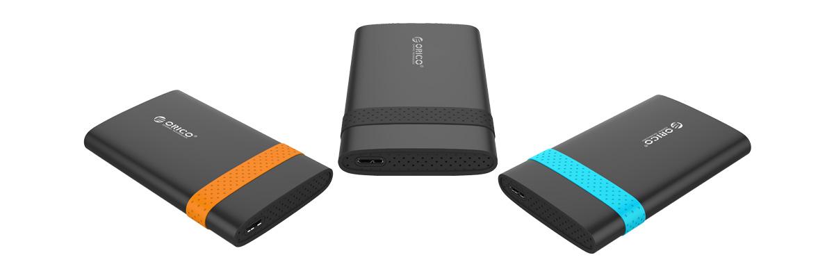 Box ổ cứng 2.5'' Orico 2538U3 SSD HDD Sata 3 USB 3.0-3