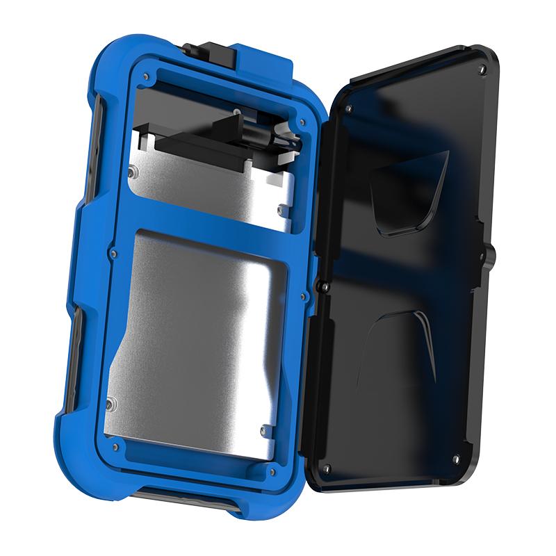 Box ổ cứng 2.5'' Orico 2739U3-BL SSD HDD Sata 3 USB 3.0 (Xanh)-2