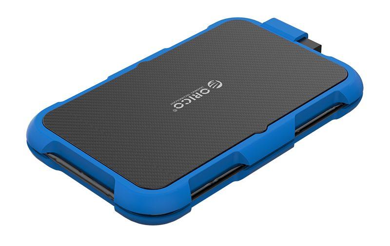 Box ổ cứng 2.5'' Orico 2739U3-BL SSD HDD Sata 3 USB 3.0 (Xanh)-4