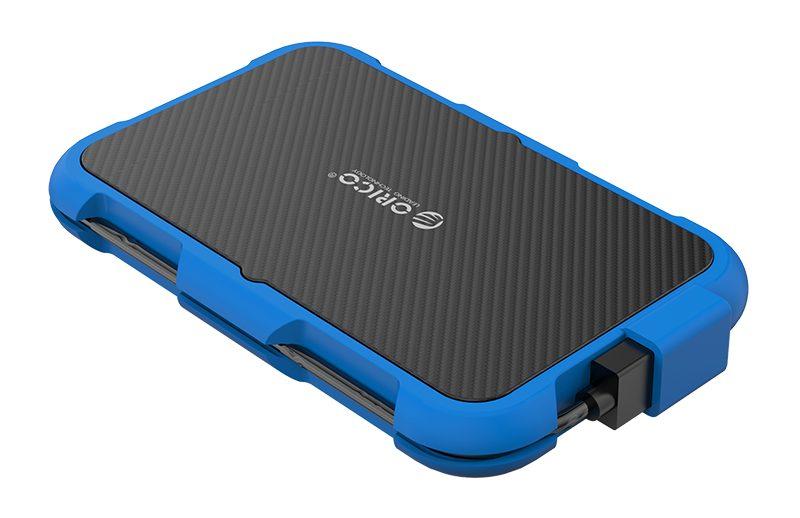 Box ổ cứng 2.5'' Orico 2739U3-BL SSD HDD Sata 3 USB 3.0 (Xanh)-5