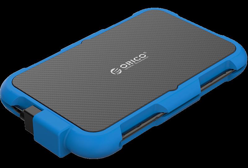 Box ổ cứng 2.5'' Orico 2739U3-BL SSD HDD Sata 3 USB 3.0 (Xanh)