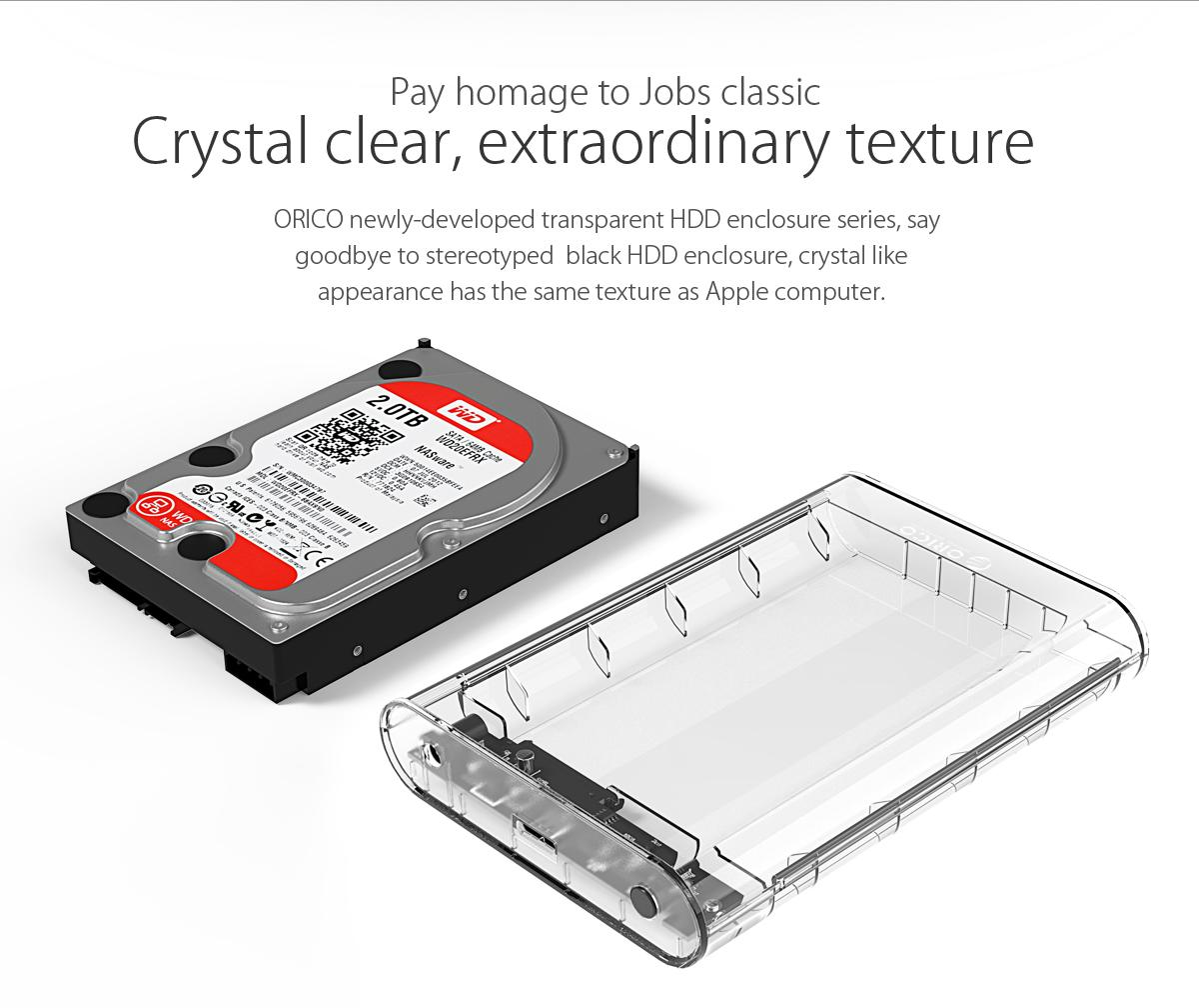 Box ổ cứng 3.5'' Orico 3139U3 SSD HDD Sata 3 USB 3.0-1