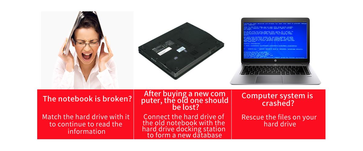 Docking ổ cứng 2.5''+3.5'' Orico 6218US3 SSD HDD Sata 3 USB 3.0-2