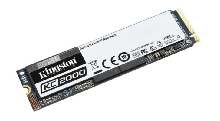 Kingston KC2000 250GB M.2 2280 NVMe