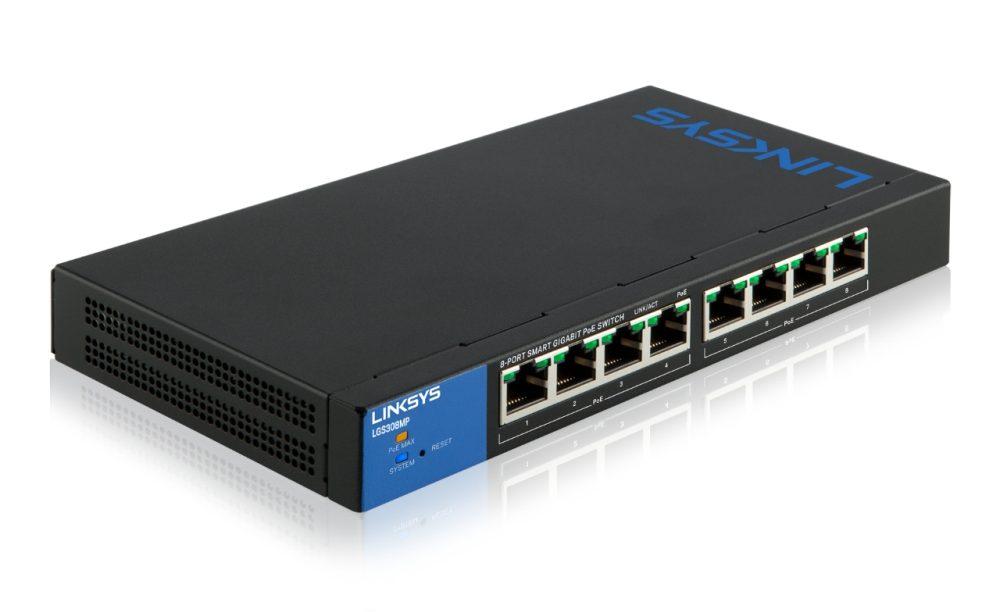 Switch Linksys 8P LGS308MP-1