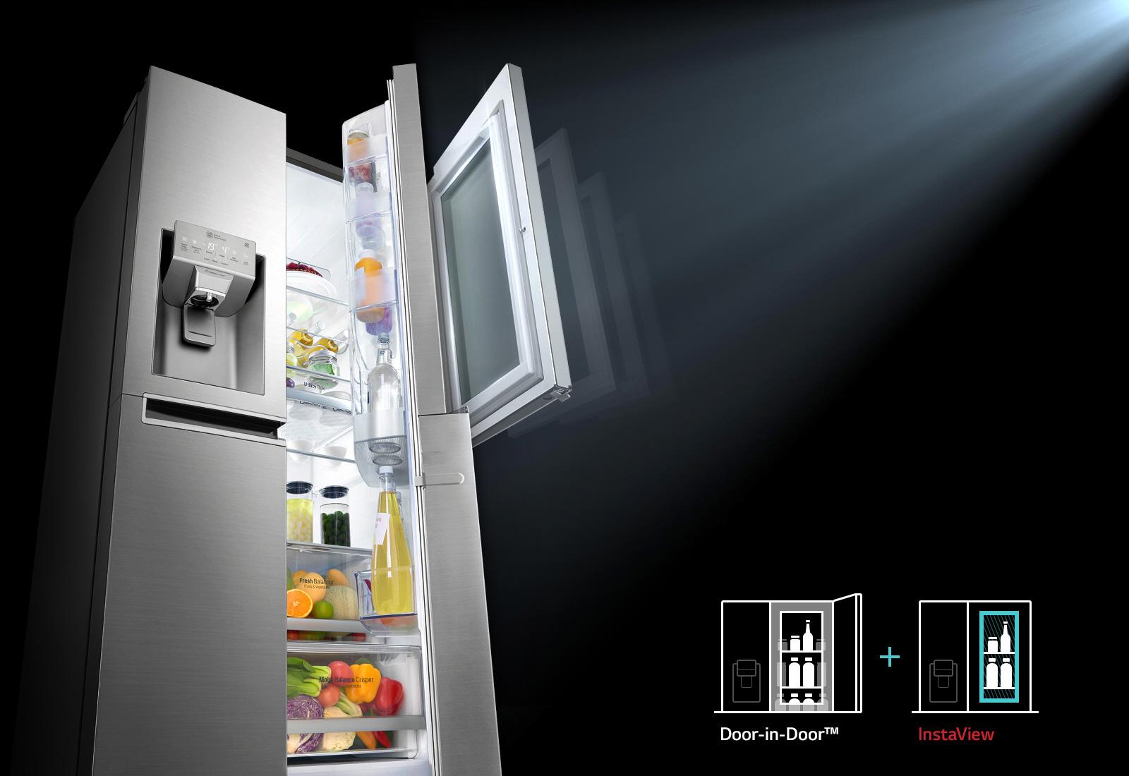 Tủ lạnh LG Inverter InstaView Door-in-Door 601 lít GR-X247MC_2