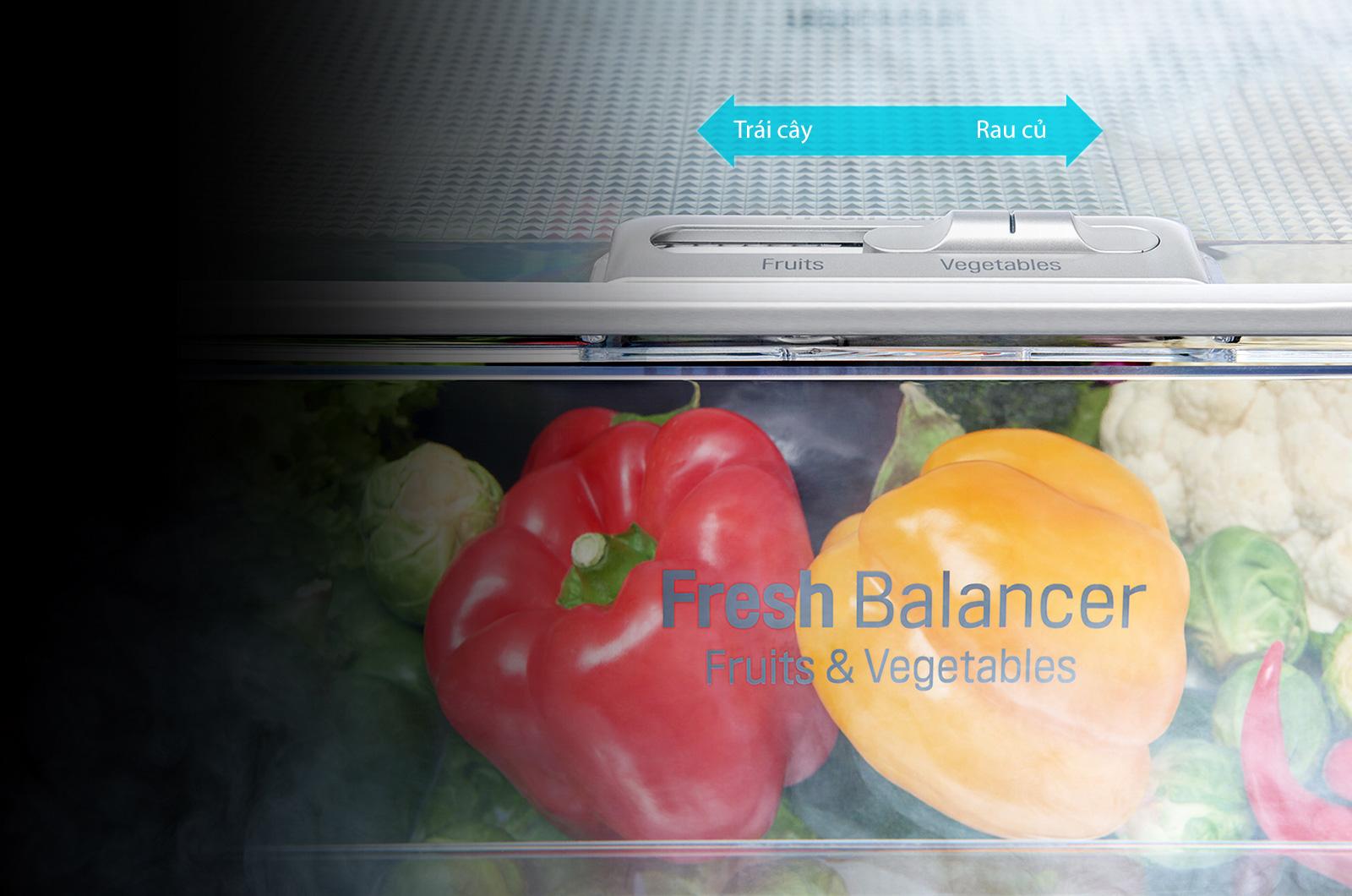 Tủ lạnh LG Inverter InstaView Door-in-Door 601 lít GR-X247MC_6