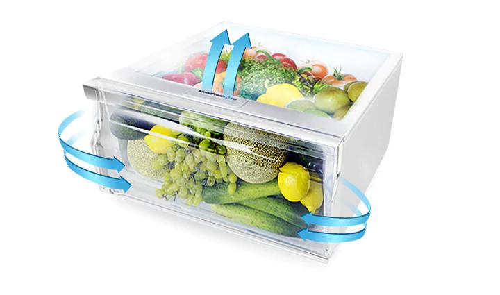 Tủ lạnh Samsung Inverter 216 lít RT20HAR8DDX-SV_4