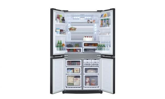 Tủ lạnh Sharp Inverter 626 lít SJ-FX630V-ST_9