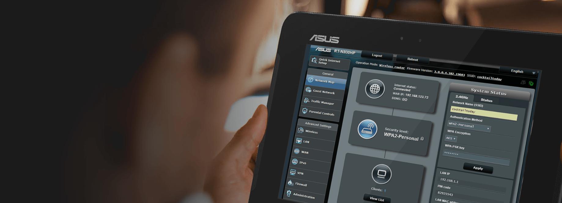 Thiết bị mạng Asus RT-N800HP-2
