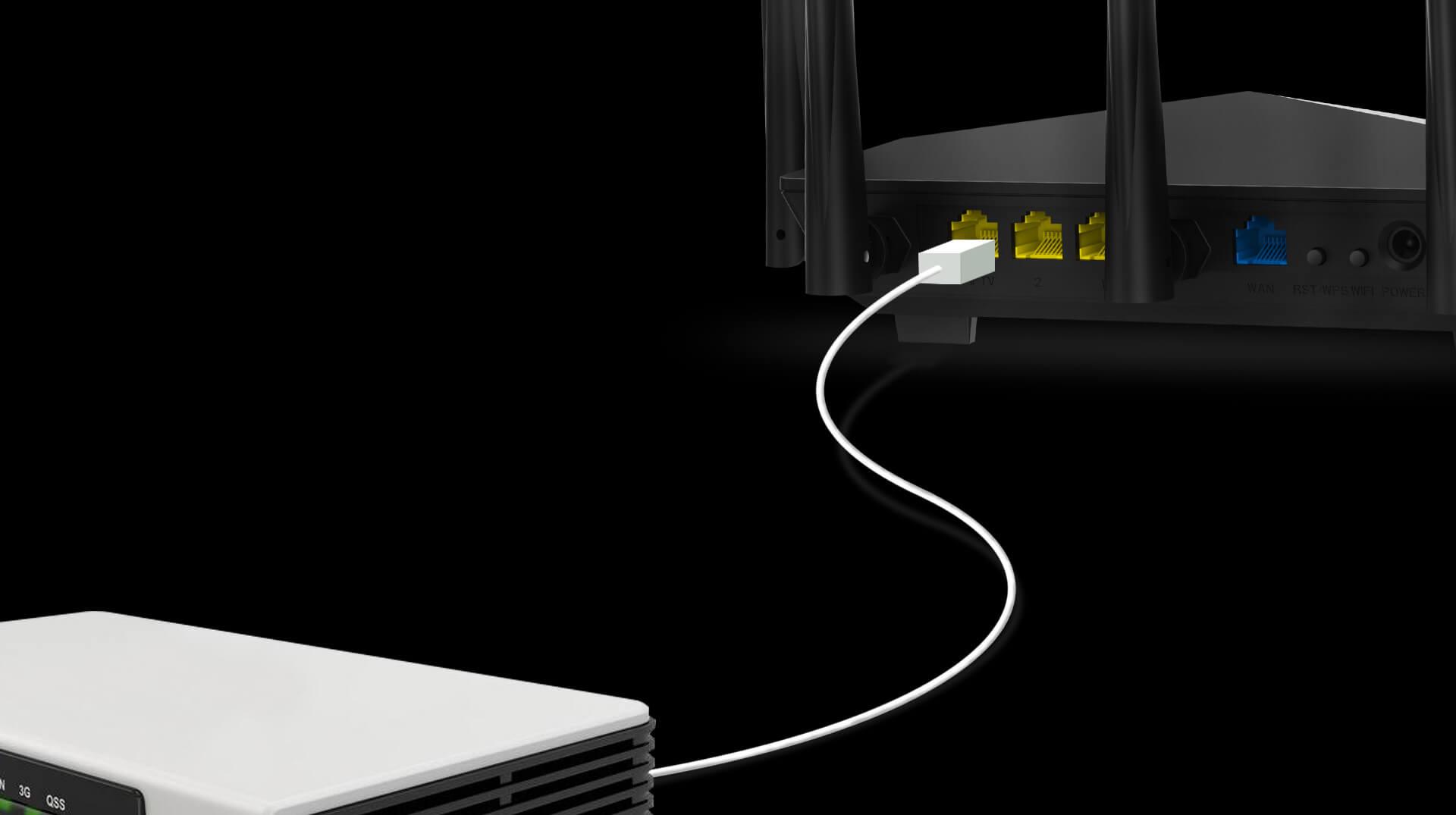 Thiết bị mạng Router Tenda AC7-6