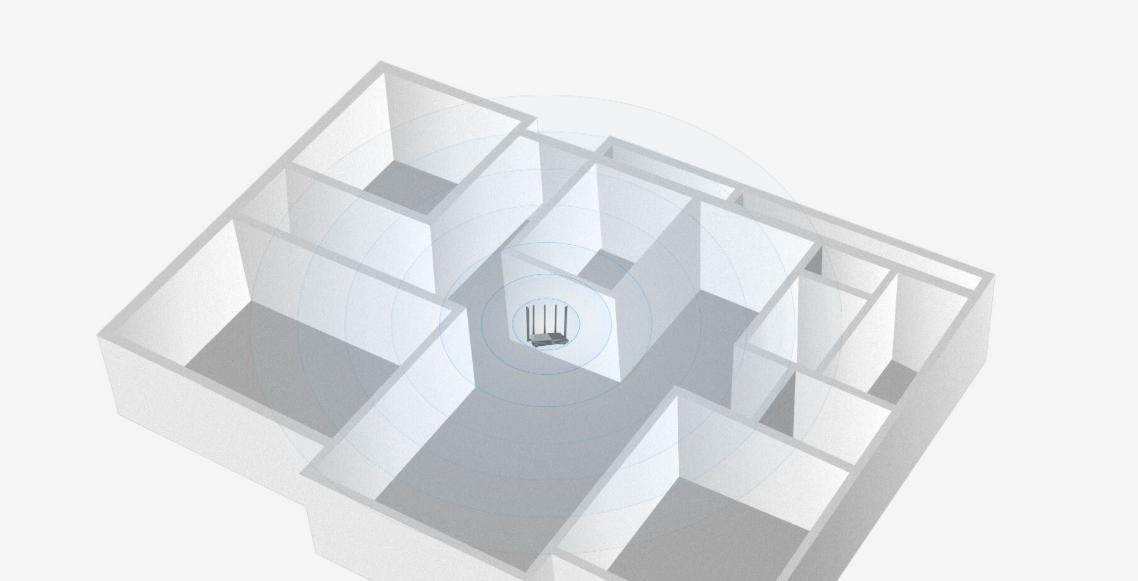 Thiết bị mạng Router Tenda AC7