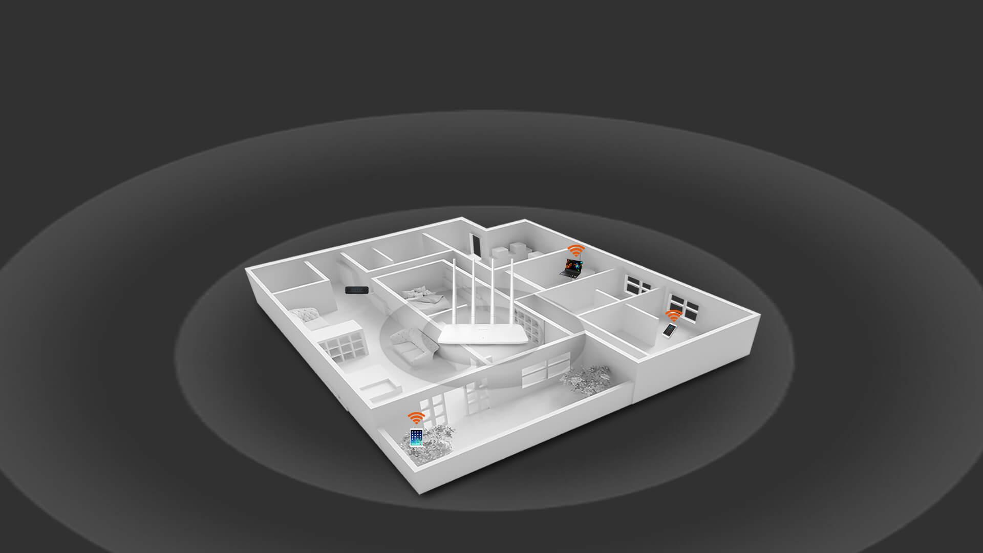 Thiết bị mạng Router Tenda F6-3