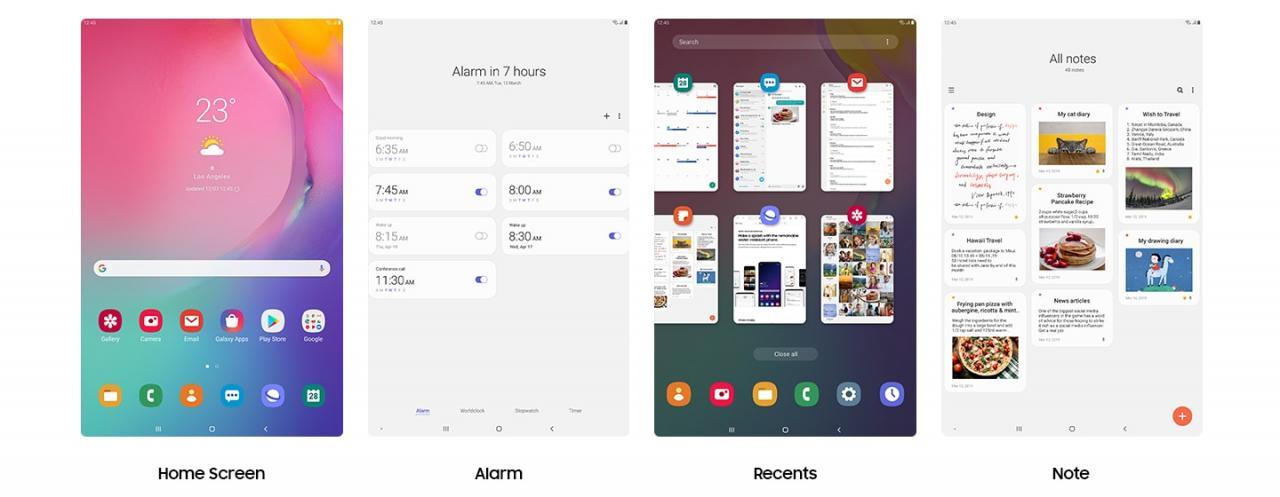 Giao diện One UI mới hơn, thông minh hơn
