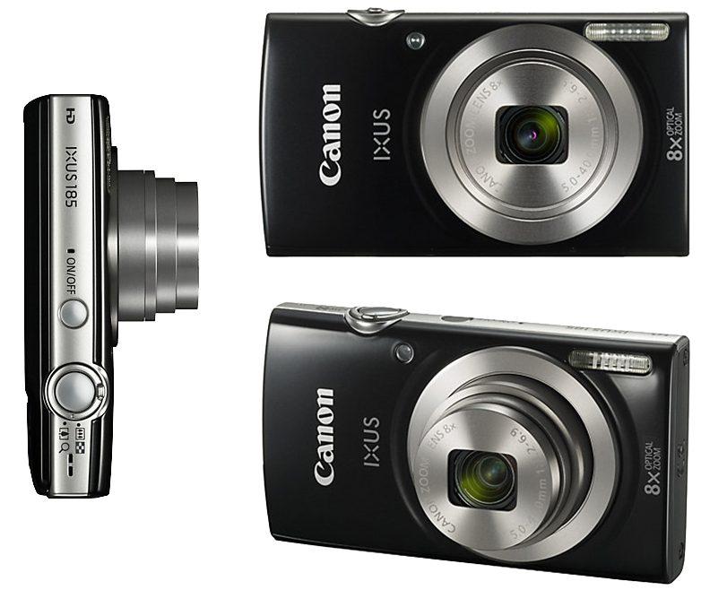 máy ảnh Canon Ixus 185 (Đen)