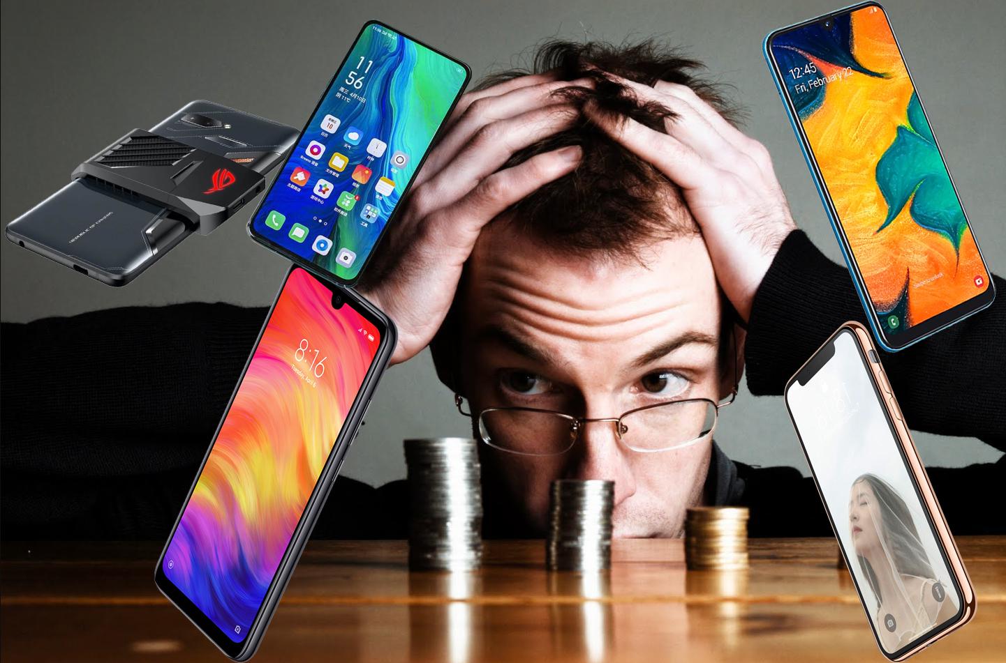 top 5 điện thoại