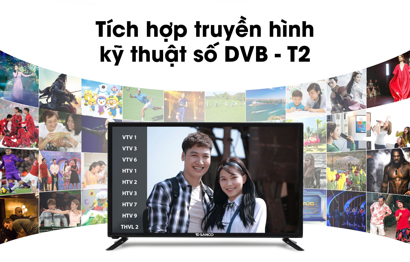 Tivi Led Sanco 32 inch H32T100